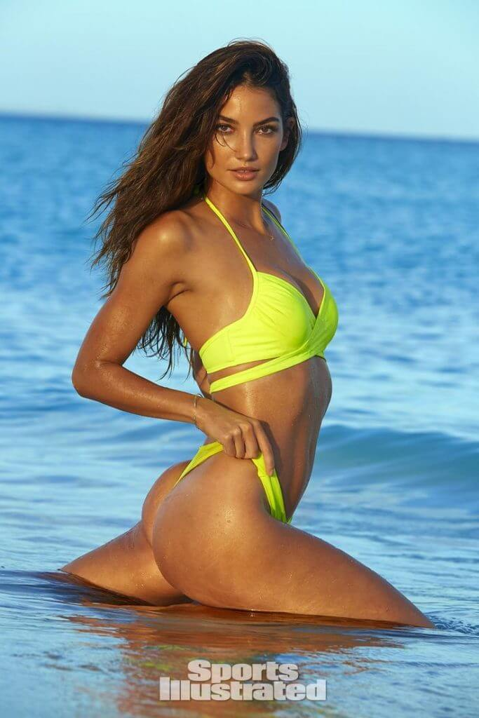 Lily Aldridge Photograph by James Macari - Sports Illustrated 2