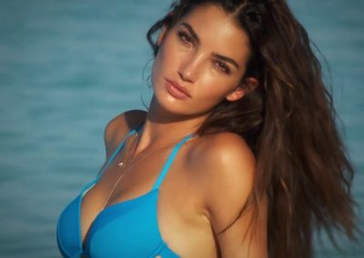 Lily Aldridge Photograph by James Macari - Sports Illustrated 3
