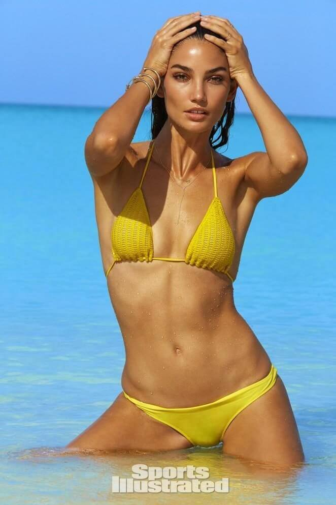 Lily Aldridge - Photographs by James Macari Sports Illustrated